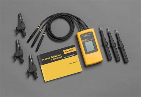 fluke 9040 phase rotation indicator cetm