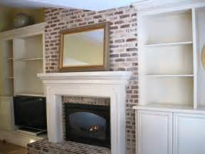 Built In Bookshelves Around Fireplace Simple Details The Transformation Chapter 2