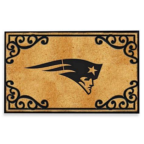 Patriots Doormat nfl new patriots door mat bed bath beyond