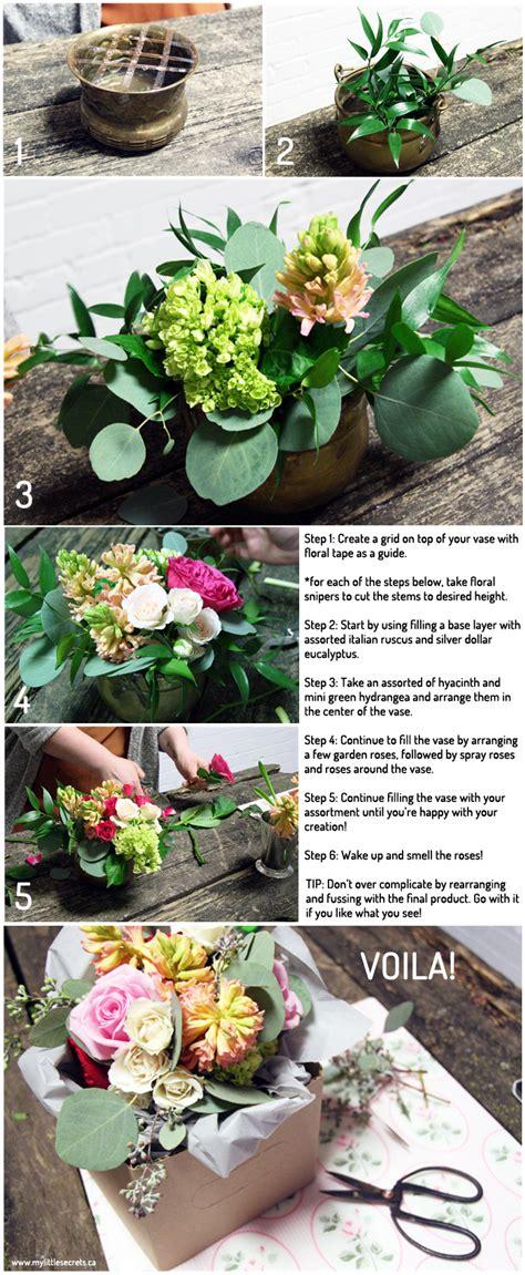 pinterest crafts diy floral arrangement a few weeks ago natalie from my little secrets popped