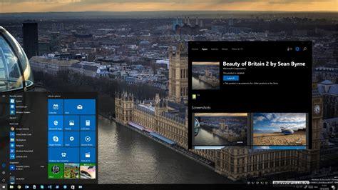 imagenes temas windows 10 surgem os primeiros temas para windows 10 na windows store