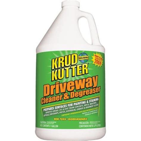 krud kutter 1 gal driveway cleaner and degreaser dc016