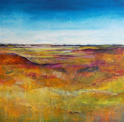 Abstract Landscape Uk Abstract Landscape Painting Original Canvas Large