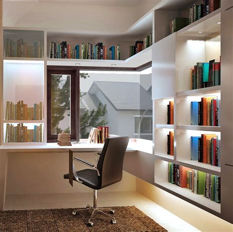 layout ruang kerja minimalis menata simple perpus di ruang kerja minimalis menata