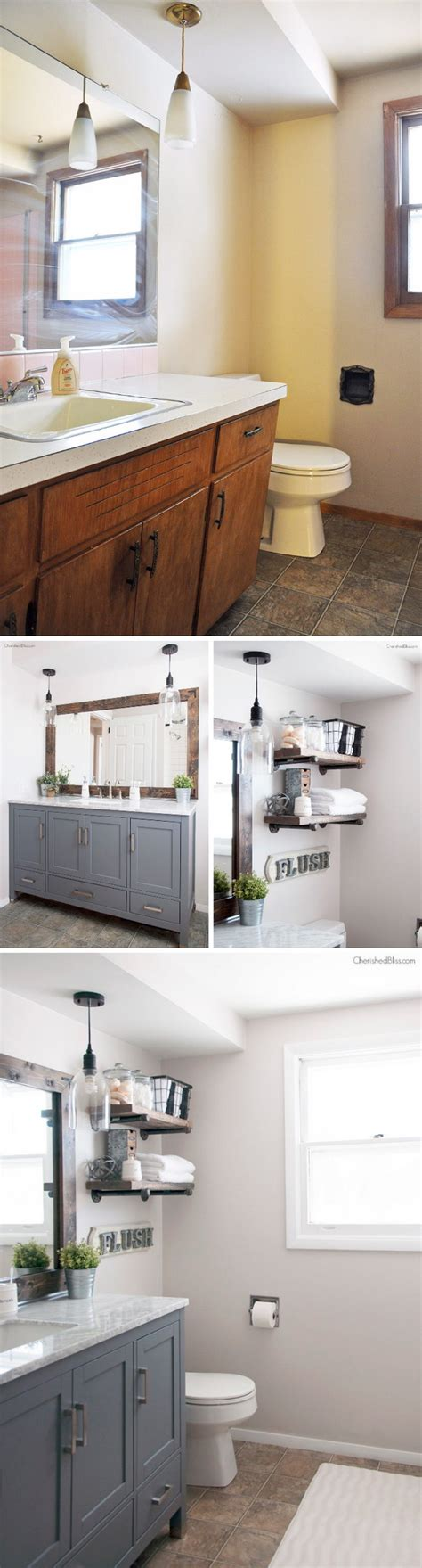 20 amazing pictures of bathroom makeovers with glass tile before and after 20 amazing bathroom makeovers noted list