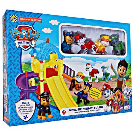 Paw Patrol Parking Lot Winter Rescres Zy 637 Murah mainan boys area paw patrol track series mainananakonline