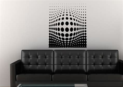 abstract wall stickers pushing through abstract wall stickers adhesive wall sticker