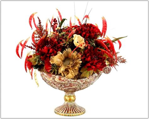silk flower arrangements for dining room table artificial flower arrangements for dining room table
