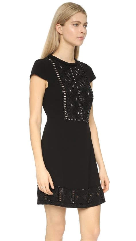 Dress Monaco lyst club monaco jessarey dress in black