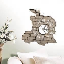 Planes Wall Stickers lifeup orologio da parete moderni design silenzio numeri