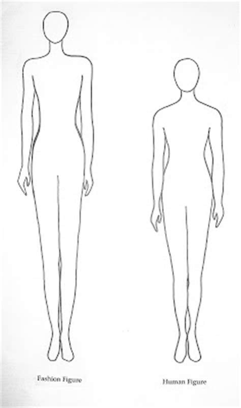 female mannequin templates sketch templates