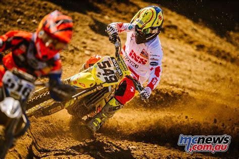 jett motocross moto news junior track at mildura norton stars