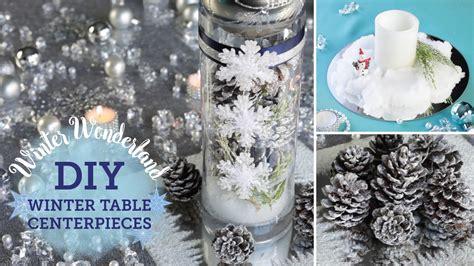 winter wedding table decorations diy winter table centerpieces