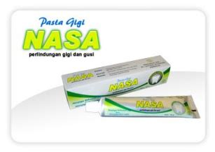 Pasta Gigi Nasa Efek Sing collaskin cleanser stockist nasa jogja