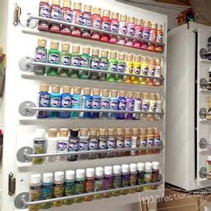 Cabinet Door Storage Ideas by Craftaholics Anonymous 174 Craft Paint Storage Ideas