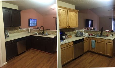 painting old kitchen cabinets before and after how to sand kitchen cabinets before painting home design