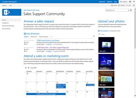 sharepoint department site template what is a sharepoint 2013 community site