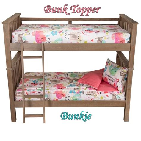 Bunk Bed Cap Bunk Topper Four Corner Tailored Mattress Cover For Bunks