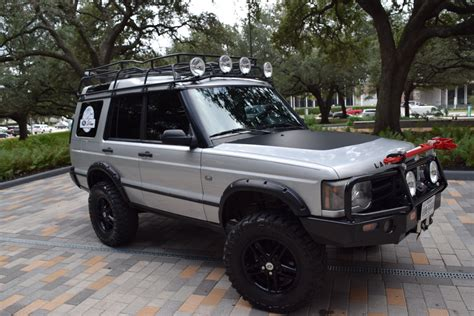 silver land rover discovery silver bullet 2003 land rover discovery ii se 120k miles