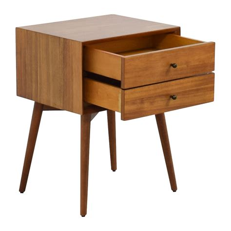 west elm table setting 49 off west elm west elm mid century nightstand tables