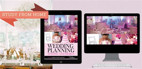 wedding planner course perth