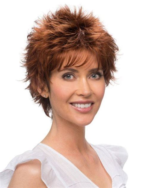 shor wigs for women over 60 short spiky wigs for women short spiky hairstyles for