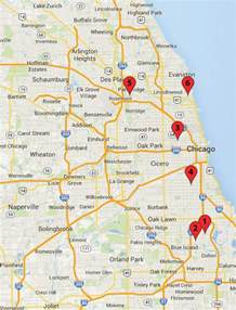 Crime Map Chicago by Chicago Crime Map February 22 27