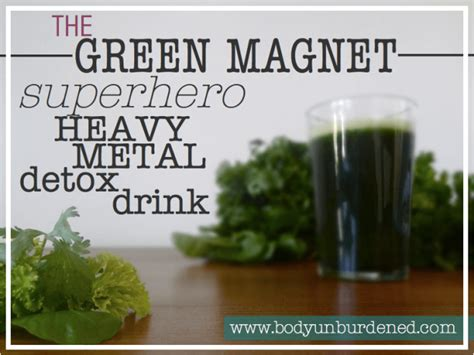 Aluminum Detox Protocol by The Green Magnet Heavy Metal Detox Drink