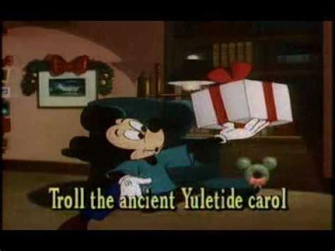 deck  halls disney  merry christmas songs youtube
