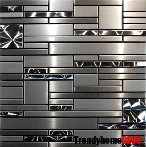 Metal Backsplash Tiles For Kitchens 25 Best Ideas About Stainless Steel Tiles On Stainless Steel Kitchen Splashbacks