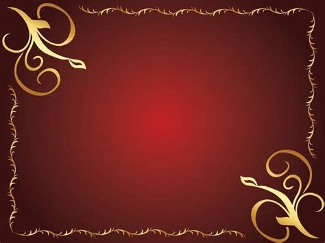 design classics powerpoint golden flower design powerpoint templates border