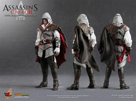 Master Assassin Ezio Figure 2 Set Assassin S Creed Ii Ezio Collectible Figure Plastic And