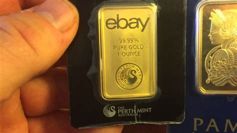 1 Ounce Silver Bar Size by Ebay S 1 Ounce Gold Bar Comparison Shout Outs