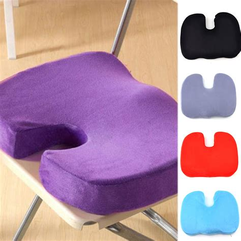 car seat bottom massager orthopedic memory foam seat cushion for chair car office