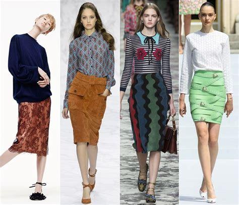 2016 spring fashion trends skirt fashion trends spring summer 2016 cinefog