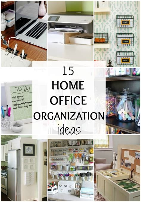 organize your home office 15 ways to organize your home office by a blissful nest