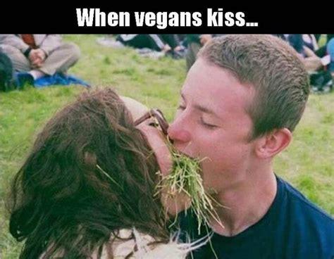 Funny Kiss Meme - vegan kiss jokes memes pictures