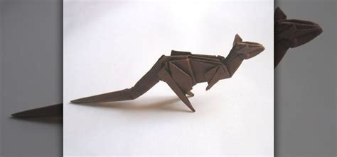 How To Make An Origami Kangaroo - how to origami a weiss kangaroo 171 origami wonderhowto