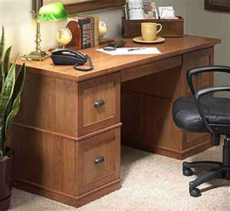 Desk With File Cabinets by Natures Business Paypal