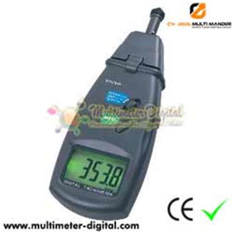 Digital Tachometer Laser Pengukur Putaran Rpm Roda Mesin Motor Kipas 1 tachometer laser pengukur putaran dt 6236b cv jmm