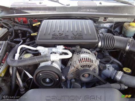 Jeep 4 7 L Engine 2001 Jeep Grand Laredo 4x4 4 7 Liter Sohc 16