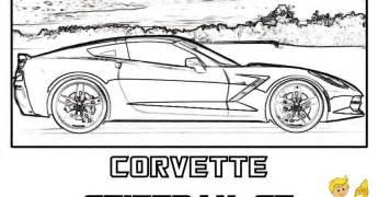 corvette coloring pages gusto car coloring pages porsche corvette cars gekimoe