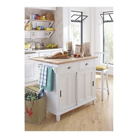 crate and barrel kitchen island belmont white kitchen island