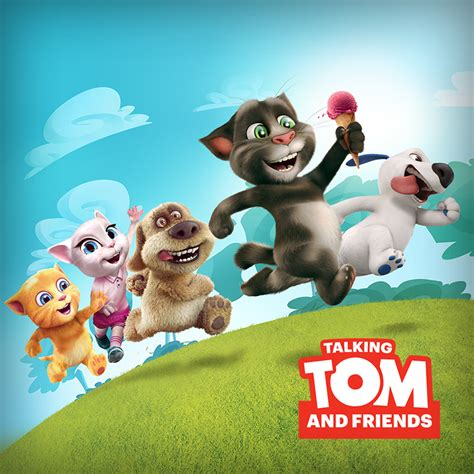 talking tom and friends characters plenus characters