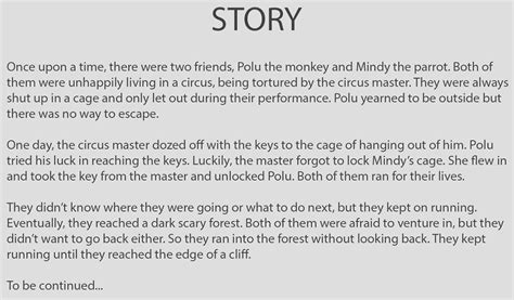 layout photo story d source story and script layout design for animation