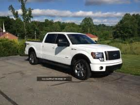 Ford F150 White 2013 Ford F150 Lifted Image 105