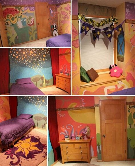 disney themed bedrooms disney rapunzel themed bedroom mickey pinterest