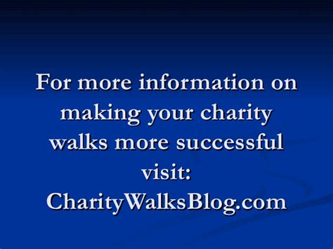7 Uncommon Ways To Find A by Charity Walks 7 Unique Ways To Say Thank You To Your