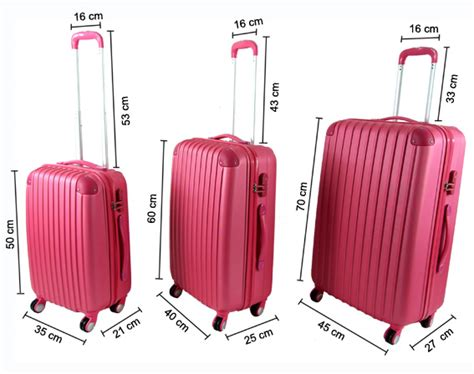 cabin luggage size airline carry on luggage size