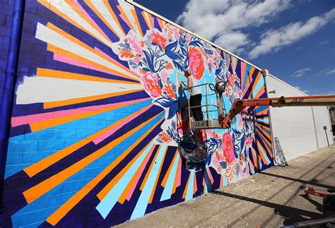 fighting  blight local artists breathe  life